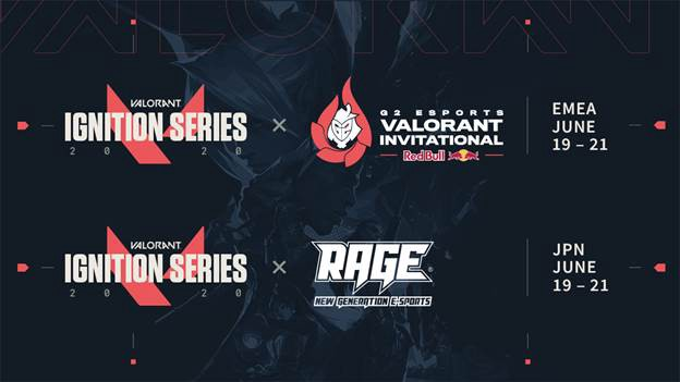 Riot Games ja Ignition Series Valorantille