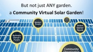 Bringing Solar to Everyone (Even Renters) with Community Virtual Solar Gardens
