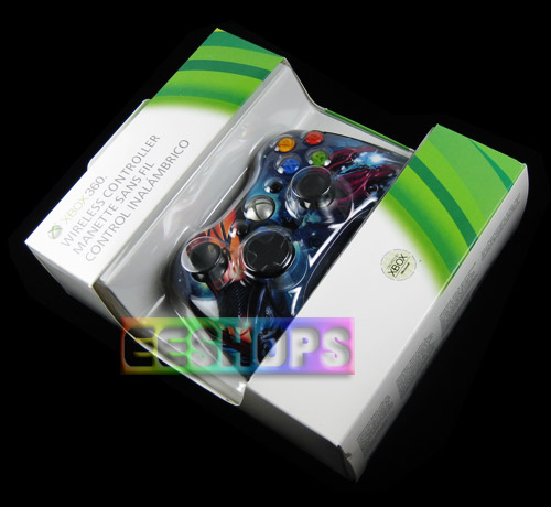 Xbox 360 S Slim Wireless Controller Limited Edition Halo