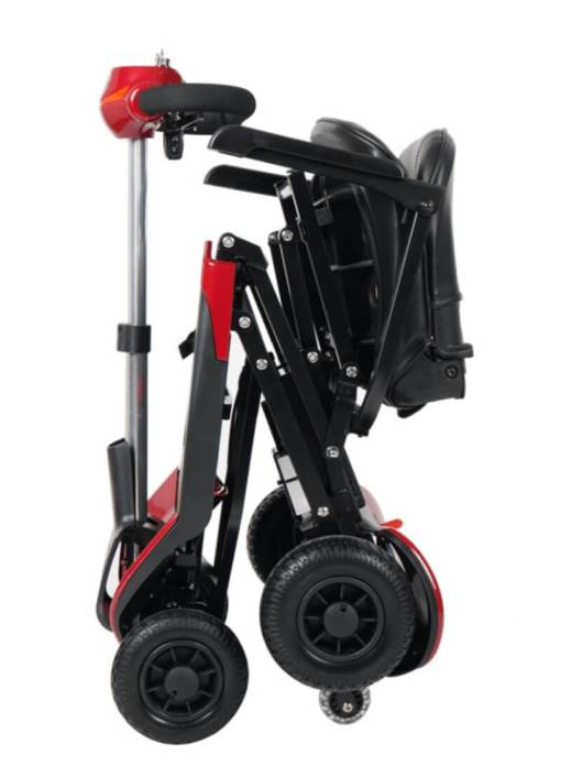 EeZeeGo-Mobility-Scooter-Folding-Red