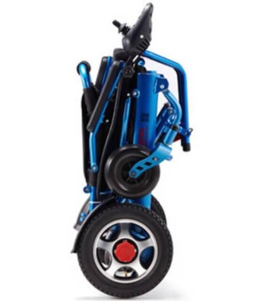 EeZeeGo-LW2 Electric folding blue powerchair