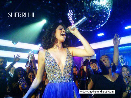 Sherri Hill Selena Gomez Dress Synchronicity in Baltimore