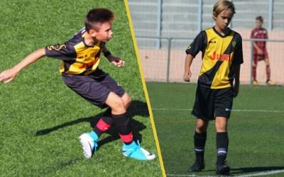Iván y Diego con la Selección Madrileña Sub-12