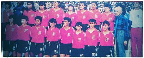 La Selección Nacional Femenina de fútbol en 1991 durante el Premundial de Concacaf en Haití