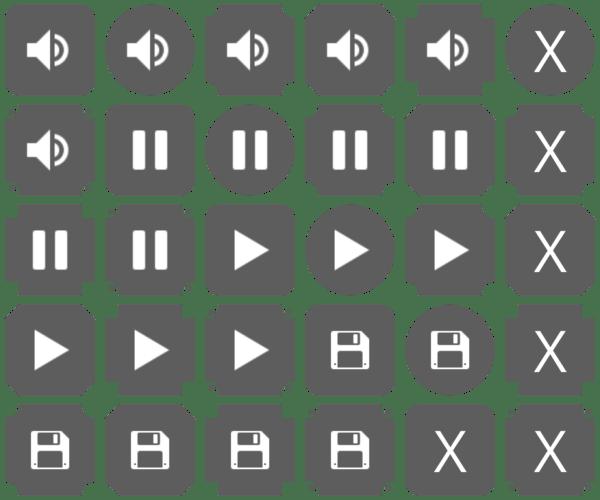 FlatDark UI Pack Preview 2