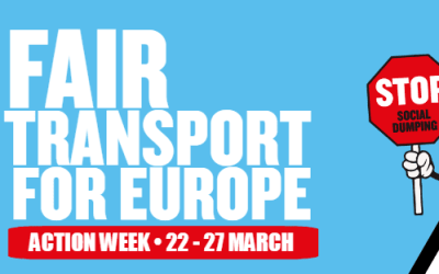 EFFAT supports #FairTransport in Europe!