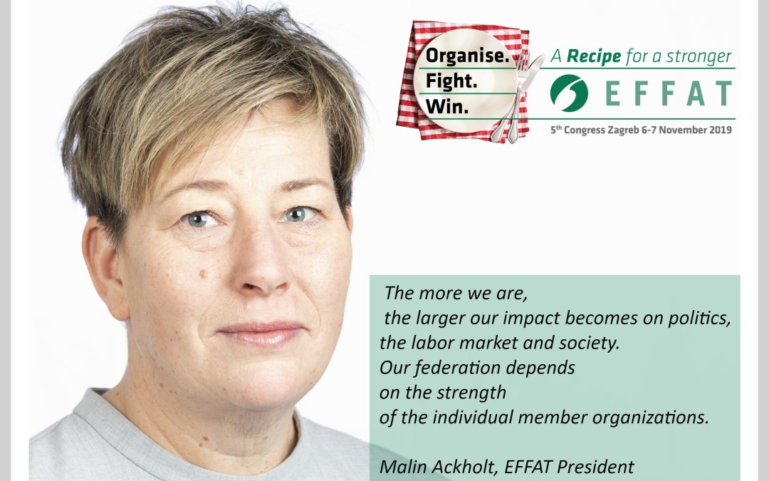 'A Stronger EFFAT'   an Opinion on Congress by our President Malin Ackholt