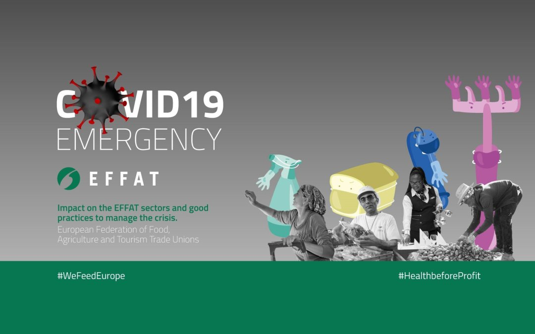 #COVID -19 EMERGENCY | Impact on EFFAT sectors and best practices from the affiliates