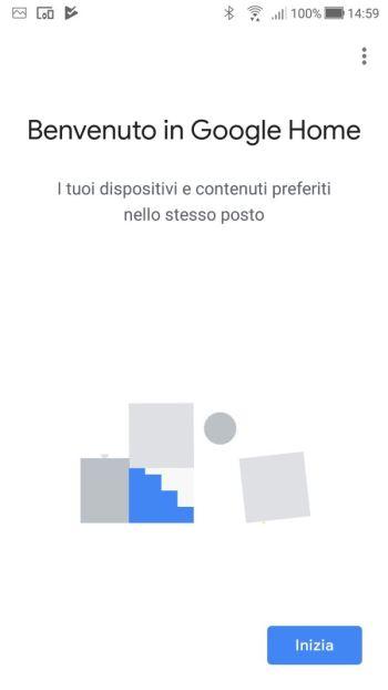 Google Home - Benvenuto