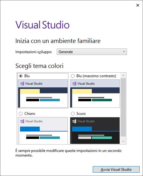 Microsoft Visual Studio 2017 Community Edition - Installazione - Configurazione Ambiente