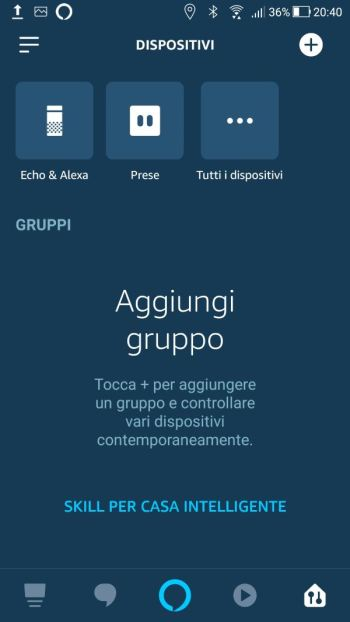 Amazon Alexa - Prima luce eliminata