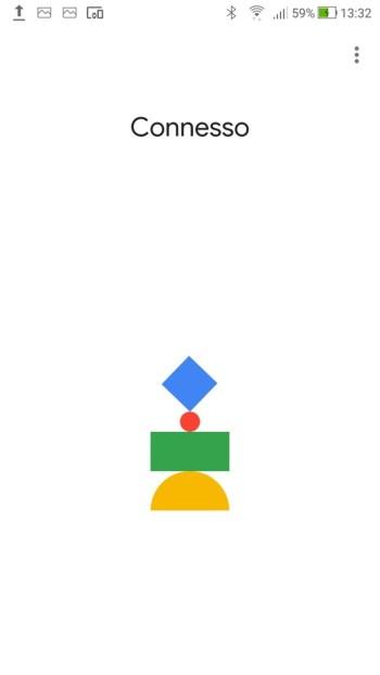Google Home - Dispositivo Connesso