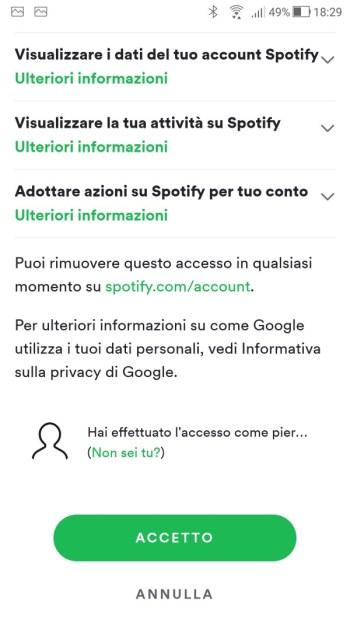 Google Home - Spotify - Info 02