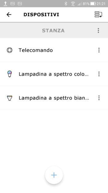 Ikea TRÅDFRI - App - Dispositivi Collegati