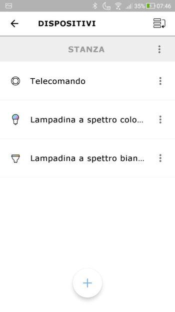 Ikea TRÅDFRI - App - Gestisci i dispositivi