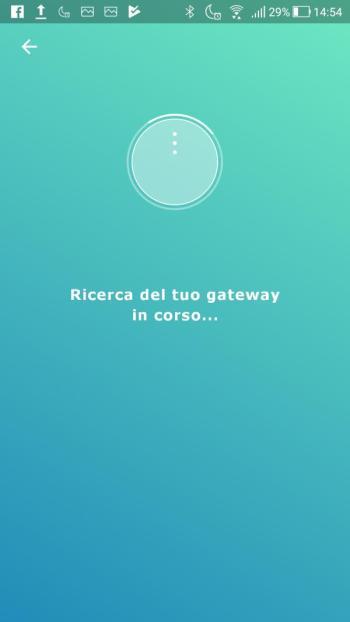 Ikea TRÅDFRI - App - Ricerca Gateway