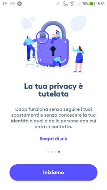 Immuni - Privacy Tutelata