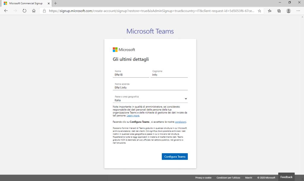 Microsoft Teams - Gli ultimi dettagli Compilati