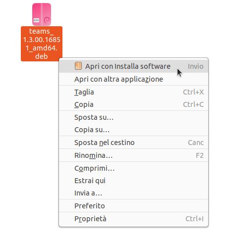 Microsoft Teams Ubuntu - Installa software