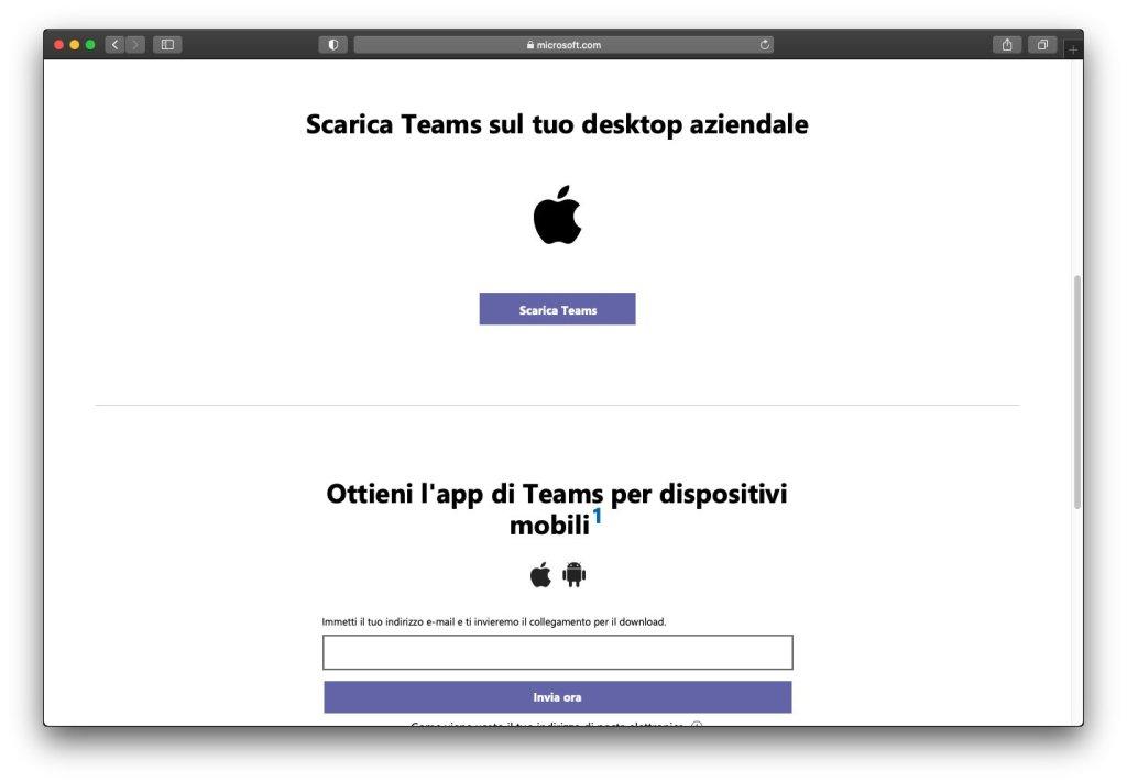 Microsoft Teams macOS - Home Page Download App
