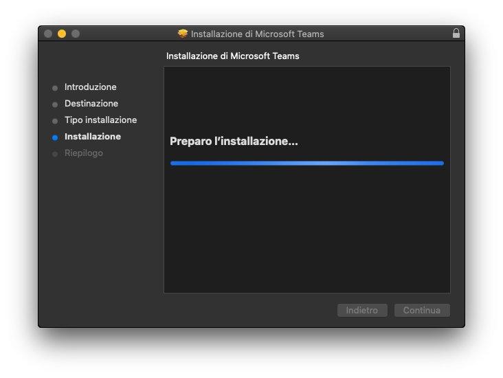 Microsoft Teams macOS - Installazione 03