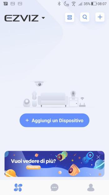 App EZVIZ - Home