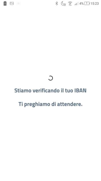 App IO - Cashback - IBAN - Verifica