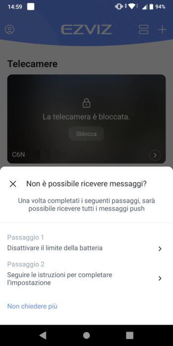 EZVIZ - Gestione della condivisione - Dispositivo condiviso - Accetta