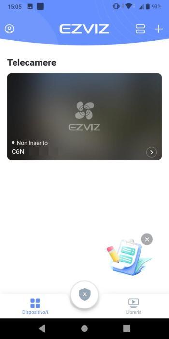 EZVIZ - Condivisione dispositivo con successo