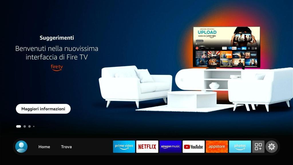 Amazon Fire TV Stick - Home