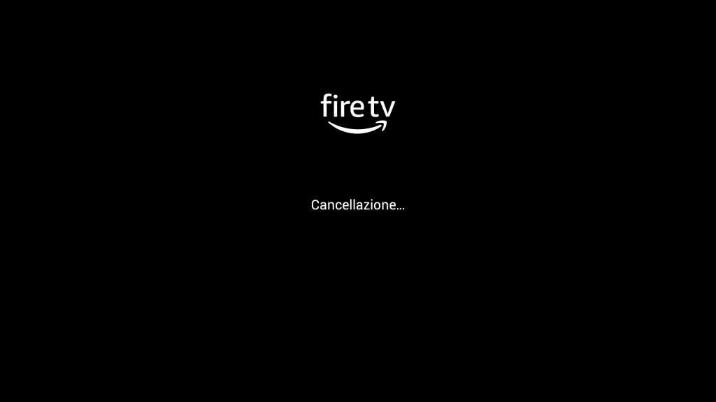 Amazon Fire TV Stick - Cancellazione