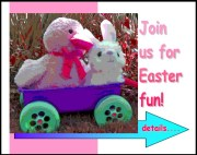 Join us for Easter Fun Invitation