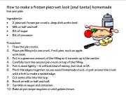 Homemade Pie Crust, clipart IMAGE