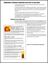 Cover of Overview of the Editable MS Publisher Files