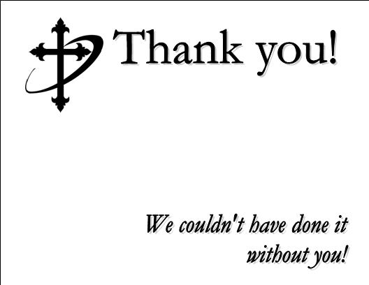 Church Thank You Cards Effective Church Communications