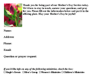 Mother's Day Connection Cards, 2