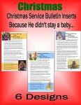 Christmas Service Bulletin Insert