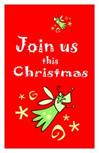 Christmas Booklet Cover or Half size Postcards#4