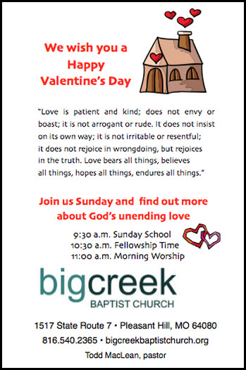 Community Outreach For Valentine S Day A Door Hanger