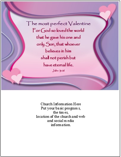 valentine s day templates effective church communications