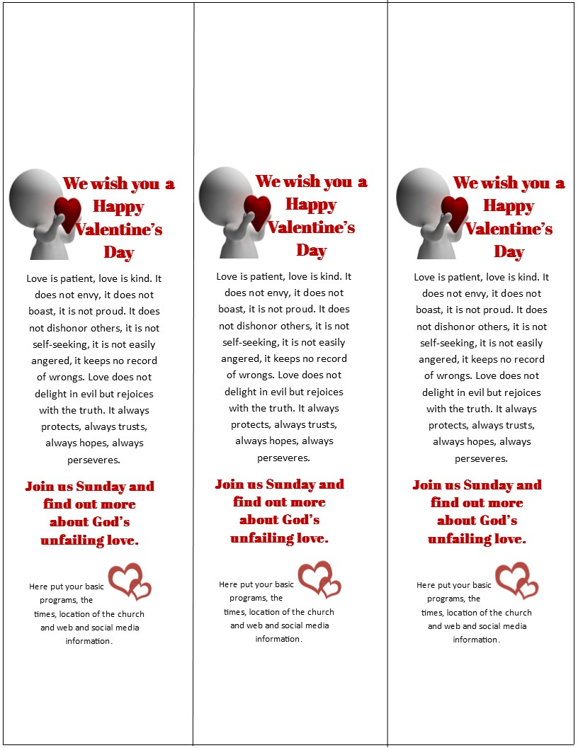 templates door hangers for valentine s day outreach plus why they
