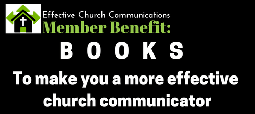 Books to make you a more effective church communicator