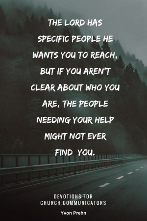 Make your ministry clear so people can find you