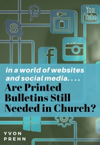Cover of ebook on Are Printed Bulletins needed in the church