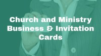 Church and Ministry Business & Invitation Cards, a new course