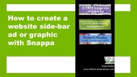 How to create a side-bar ad with Snappa