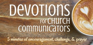 5 Minute Podcast to Encourage Church Communicators