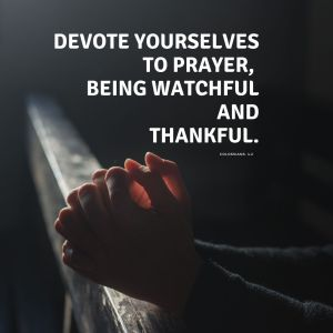 Variety of Social media images to remind us to pray