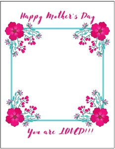 FREE Mothers Day Stationery Templates