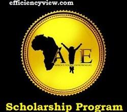 Photo of Africa's Young Entrepreneur (AYE) Scholarship Program 2020/2021 apply here